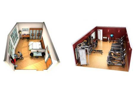 Descubre Fitness room con Life Fitness
